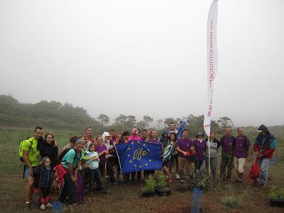 Reforestación con APAELP y Voluntarios de FORESTA: Proyecto Life+Rabiche