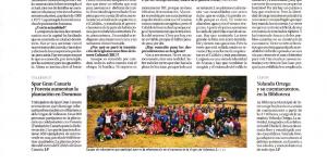 SPAR Gran Canaria y FORESTA aumenta la plantacion en Doramas (La Provincia)