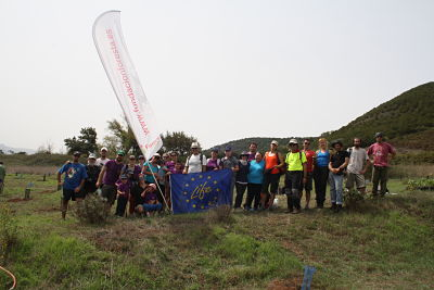 Reforestación con GMGC y Voluntarios de FORESTA: Proyecto Life+Rabiche