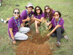 Reforestación con Scouts Bentayga y Voluntarios de Foresta: Proyecto Life+Rabiche