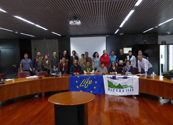 Mesa de Trabajo del Proyecto Life Pinzón