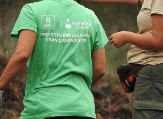 La III edición de 'Emplea Verde Gran Canaria' de Foresta facilita la inserción laboral de personas desempleadas
