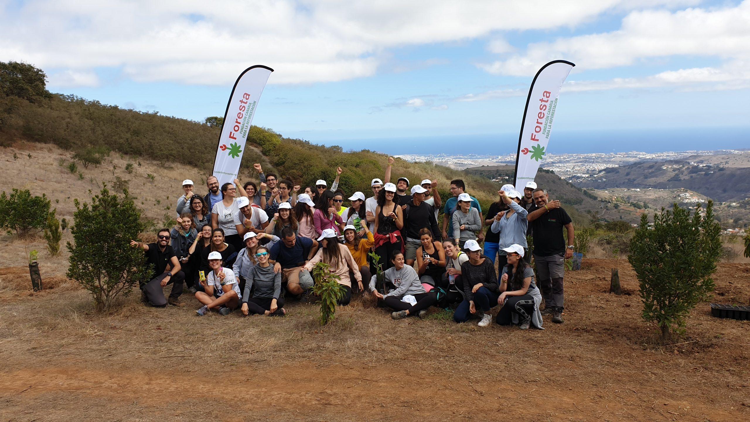 Foresta celebra su 22º aniversario con la reforestación de más de 548.000 árboles en la cumbre de Gran Canaria