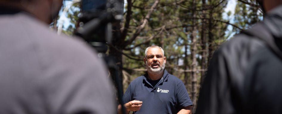 Sergio Armas, gerente de Foresta